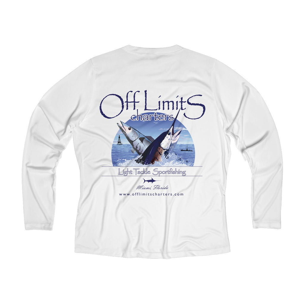 Off Limits Women's Long Sleeve DryFit V-neck Tee