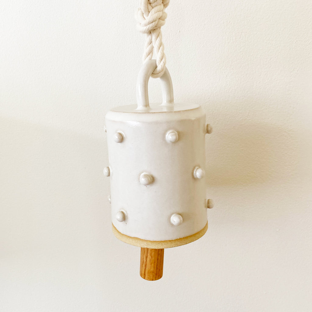 Ceramic Bell - Tiny Bobbles