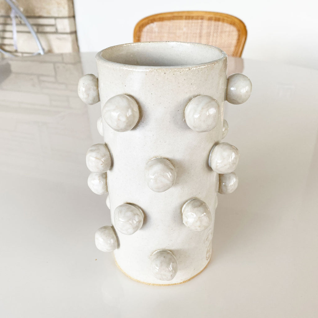 OOPS! Bobble Vase Large - White