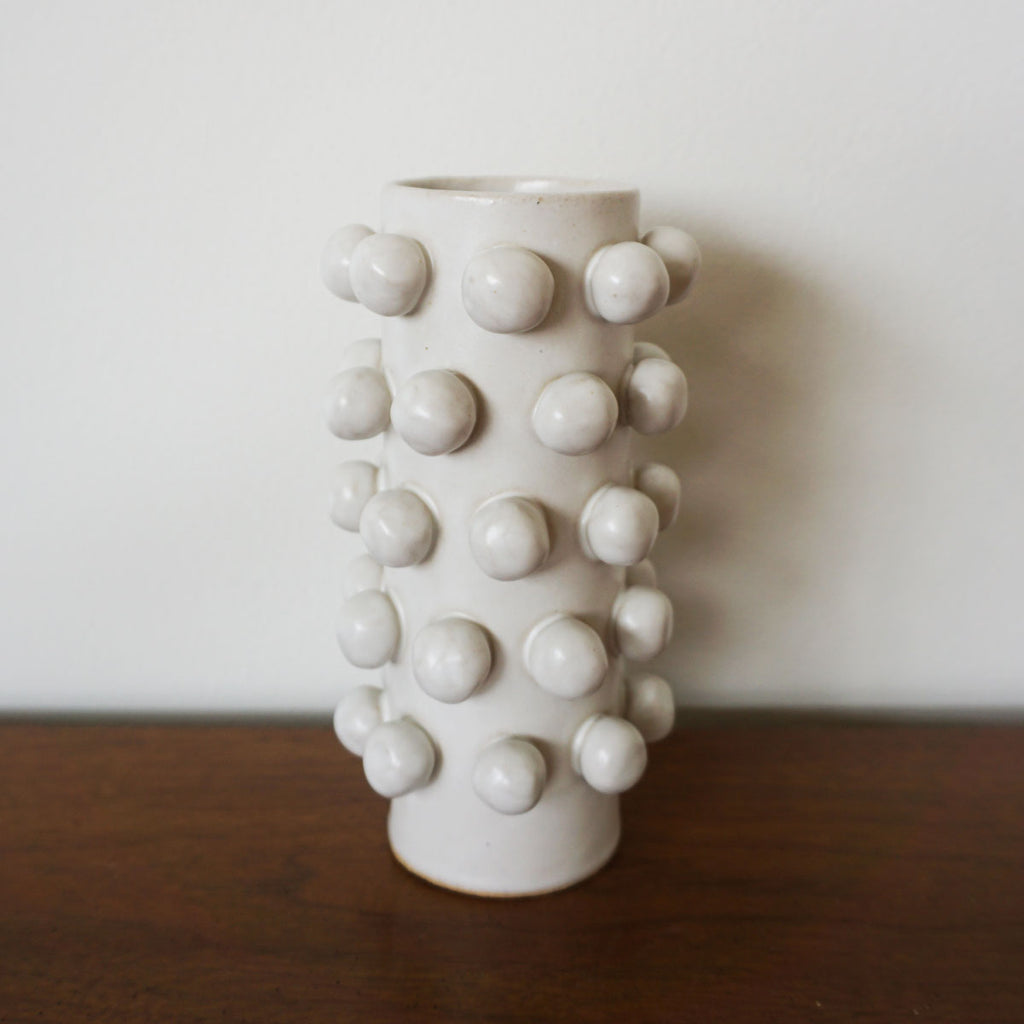 handmade bobble vase by Salto