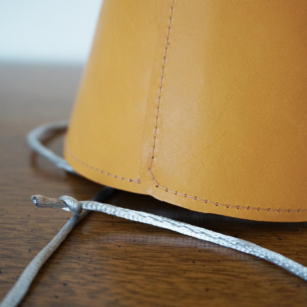 handmade leather party hat