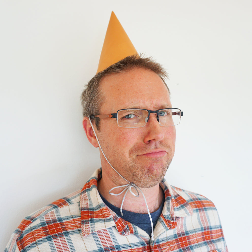 leather party hat