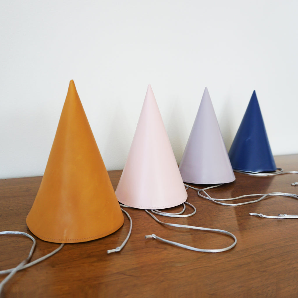 handmade leather party hats