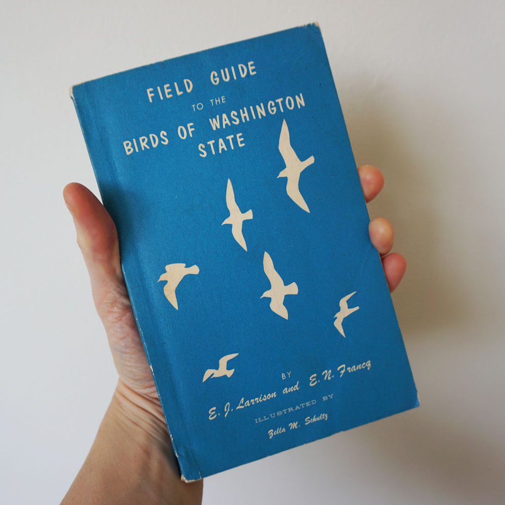 Vintage Field Guide: Birds of Washington State
