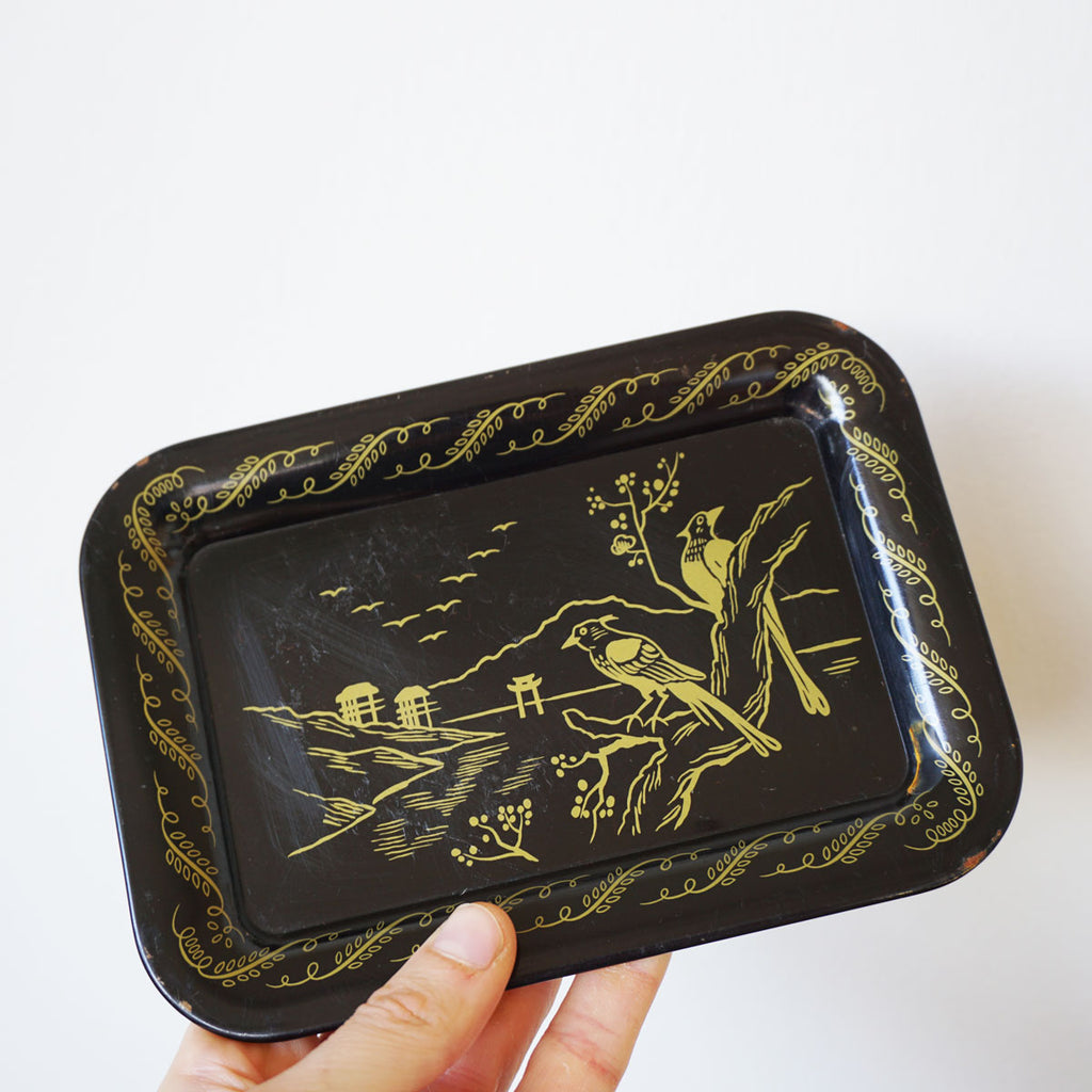 vintage chinoiserie trays