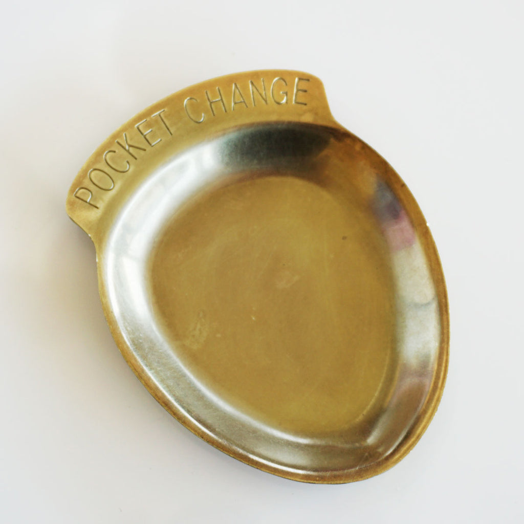 brass trinket tray