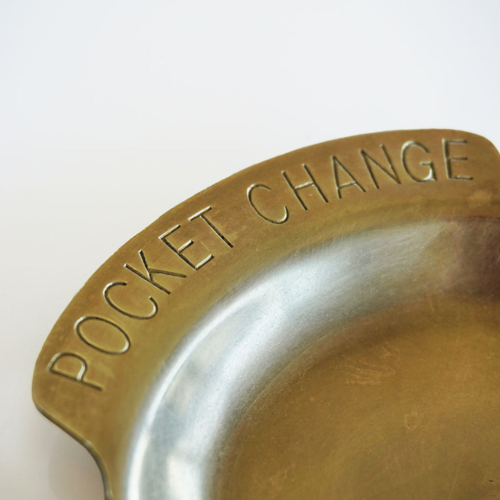 brass change dish