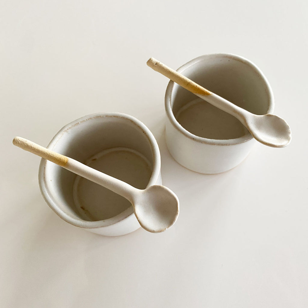 Tiny Dish Set with Spoons