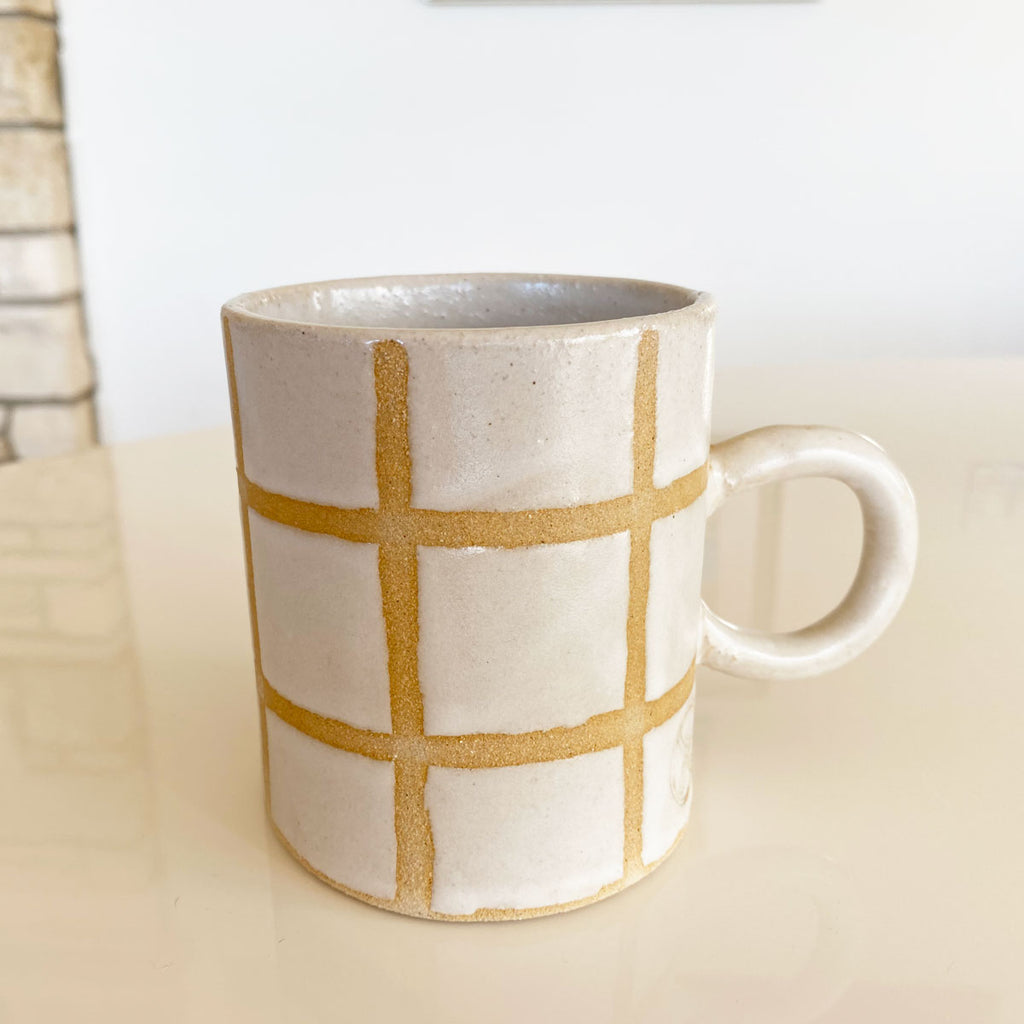 windowpane mug