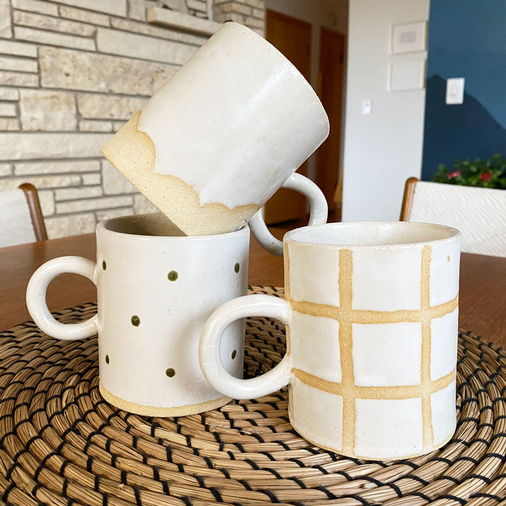 handmade mugs by salto