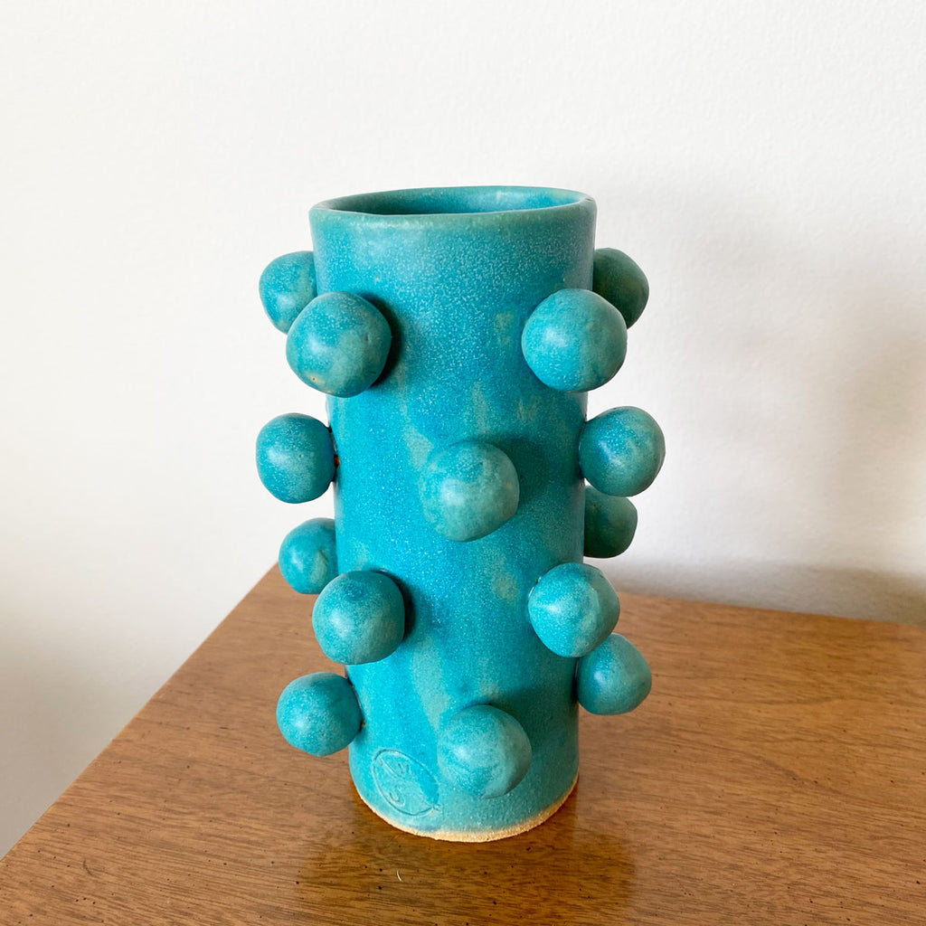 OOPS! Bobble Vase - Turquoise
