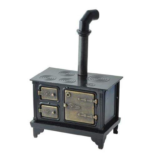Aztec Imports, Inc. Dollhouse Miniature Antique Cast Iron Stove