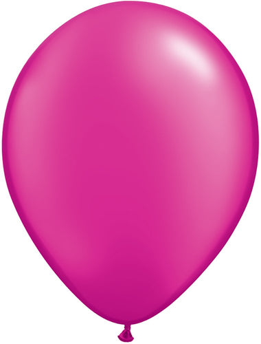 "Qualatex 99350 Latex Balloons, 11"", Pearl Magenta"
