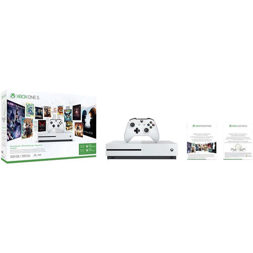 Xbox One S 500GB Console - Starter Bundle [Discontinued]