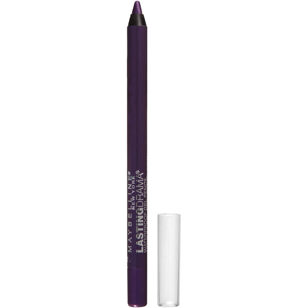 Maybelline New York Eyestudio Lasting Drama Waterproof Gel Pencil, Polished Amethyst, 0.038 oz.
