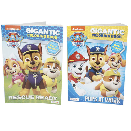 Paw Patrol Gigantic Coloring Book