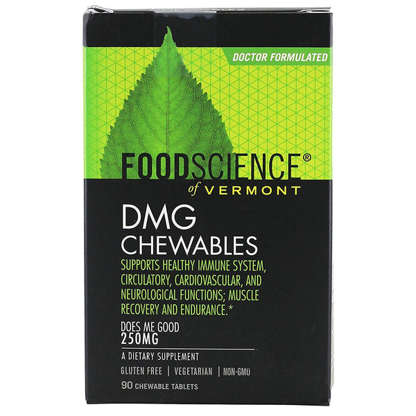 Food Science of Vermont DMG 250mg 90 Chewable Tablets