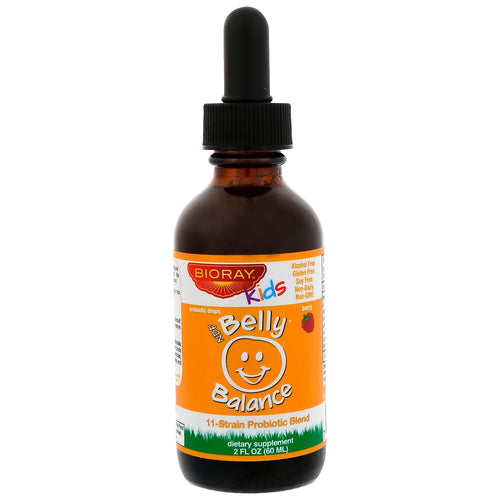 BIORAY Kids Belly Balance 2 Fl oz
