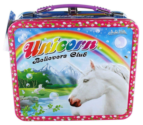 Unicorn Metal Lunch Box Standard