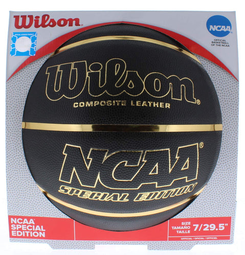 Wilson NCAA Black and Gold Basketball Official Size 29.5""