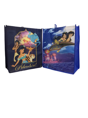 Set of 2 Aladdin and Jasmine Tote Bag