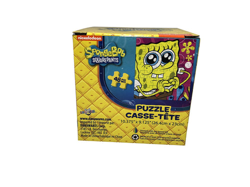 SpongeBob SquarePants Puzzle in Box - 10.37 inch x 9.12 inch