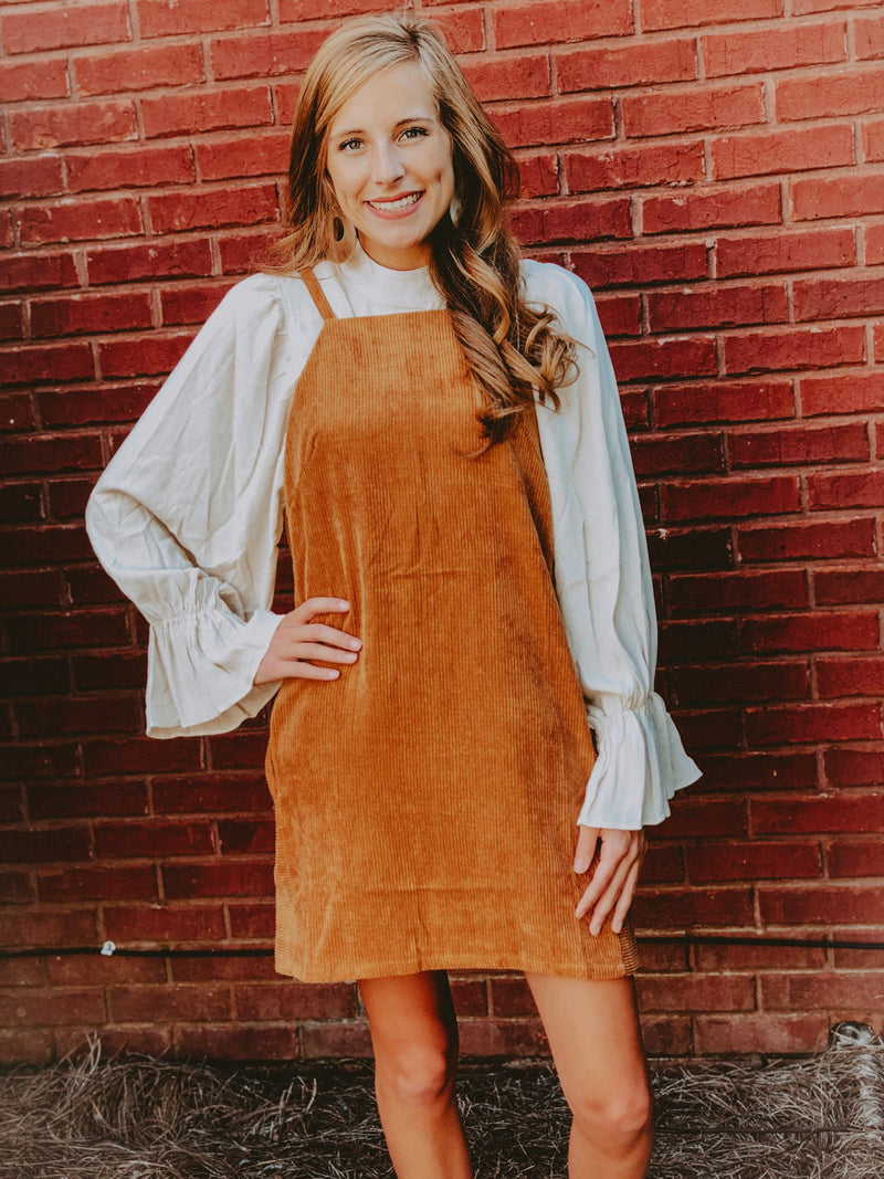 Pumpkin Spice Dress - Camel