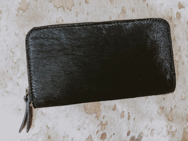 Black Hide Wallet