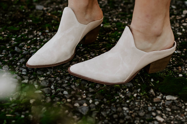 Leave It Mules - Ivory
