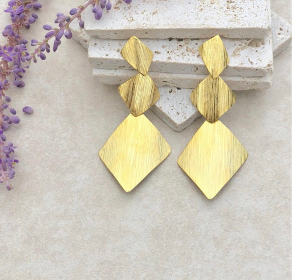 Azimetric Rhombo Earrings