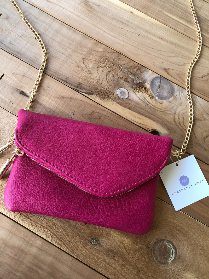Get it Together Crossbody - Fuschia