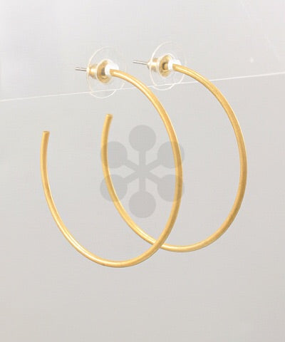 Light As A Feather Hoops - Gold
