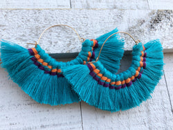 It's a Party Tassel Earrings