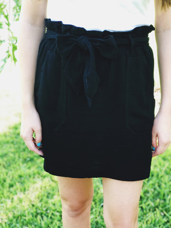 After Dark Skirt - Black