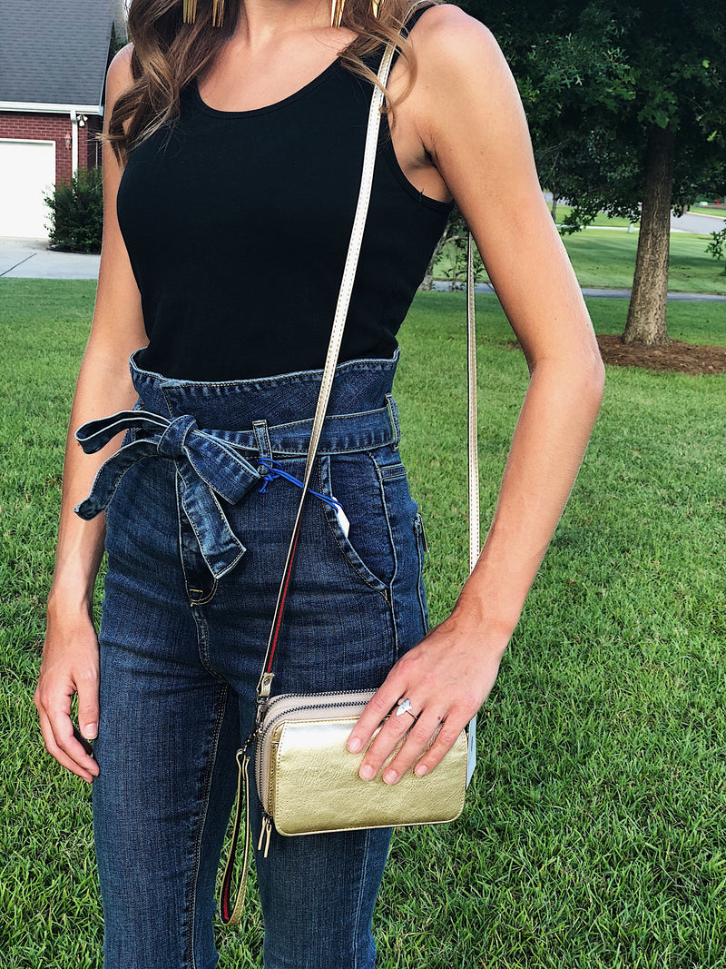 Always With You Crossbody - Champagne
