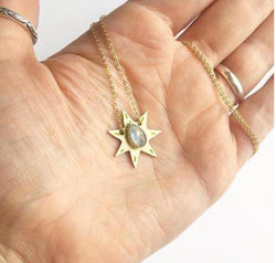 Celestial Sun Necklace