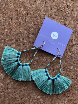 Have Some Fun Earrings - Mint
