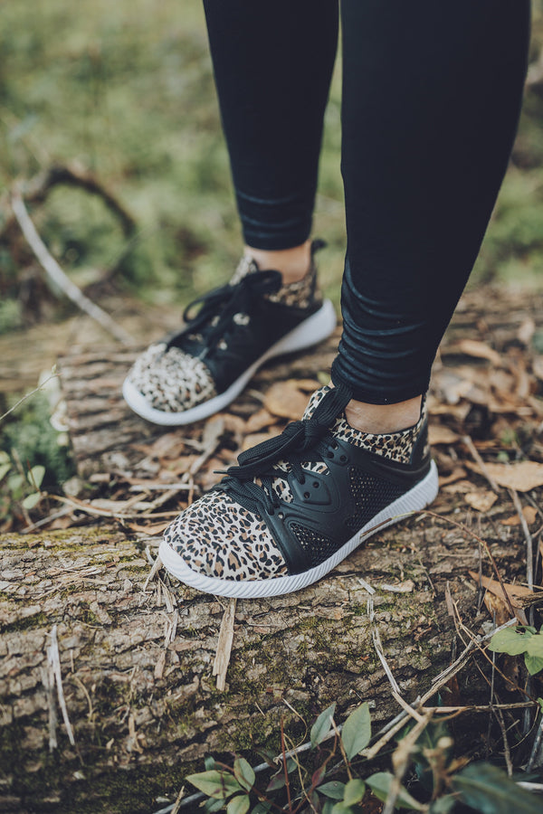 Kick It With Print Sneakers - Leopard