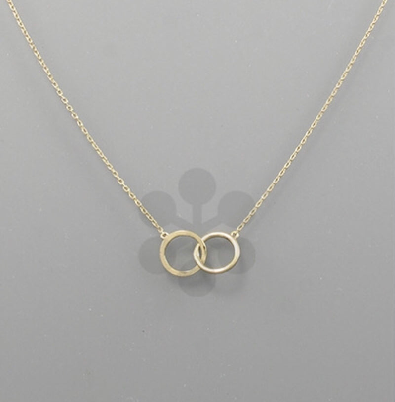 Round Linked Necklace