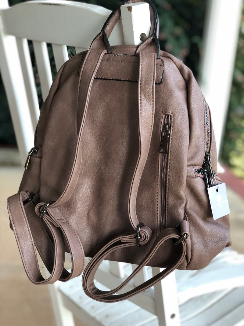 Maddie Backpack - Warm Taupe
