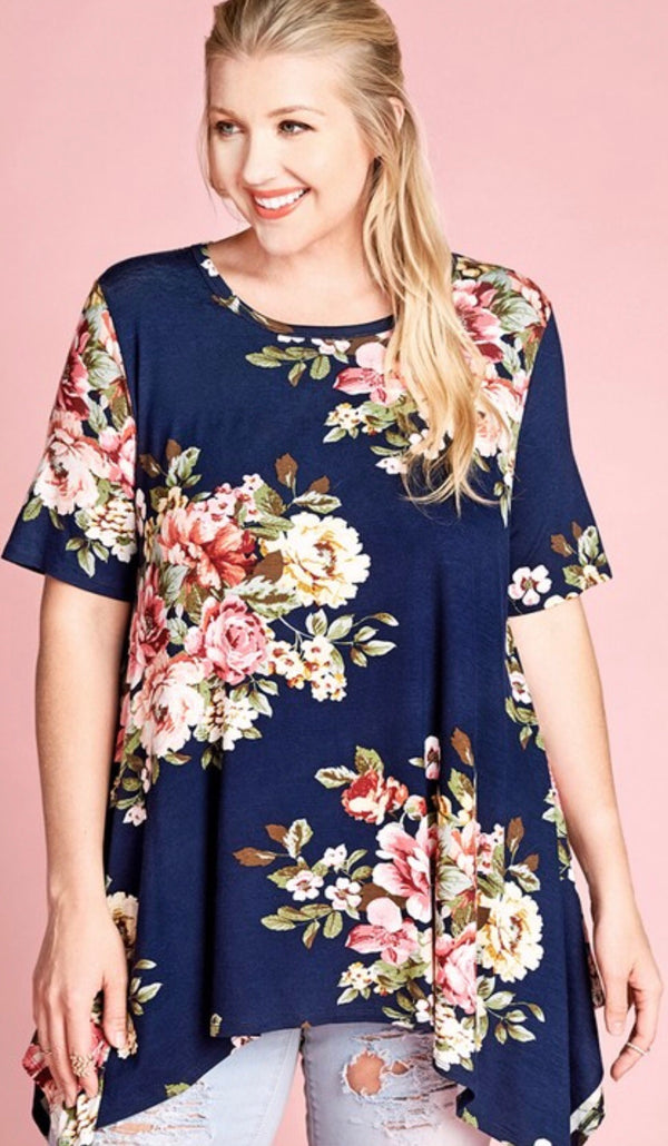 Best Of This Tunic - Navy