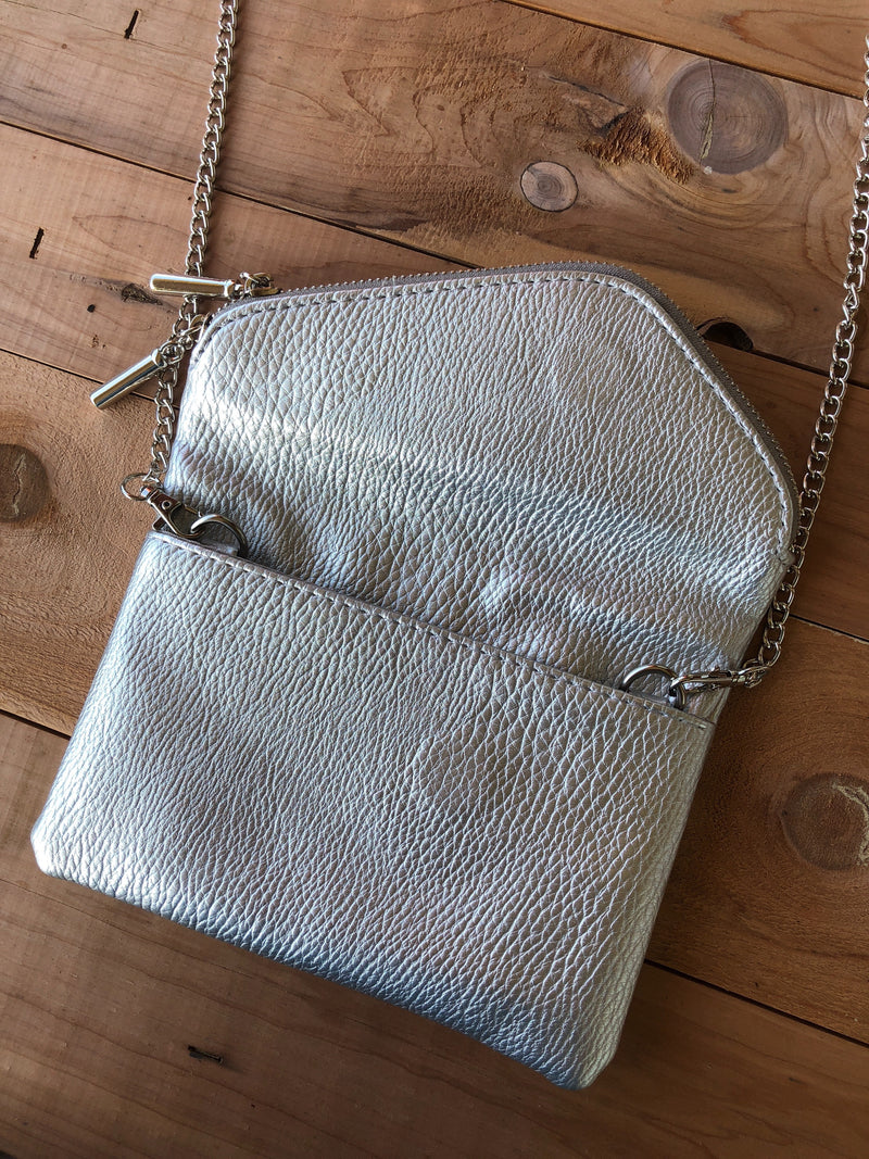 Get it Together Crossbody - Silver