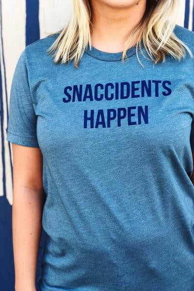 Snaccidents Happen Tee
