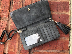 Three In One Maria Crossbody - Distressed Gray