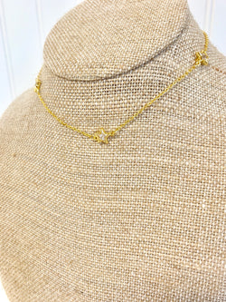 Star Bling Necklace - Gold