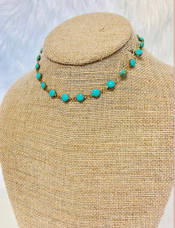 The Classic Necklace - Teal