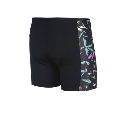 Arena Men Mid Jammer Multicolor Palms - Black