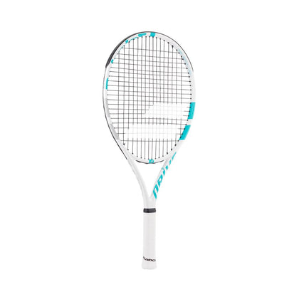 Babolat DRIVE JUNIOR 25 Tennis Racquet - L00 - White/Blue