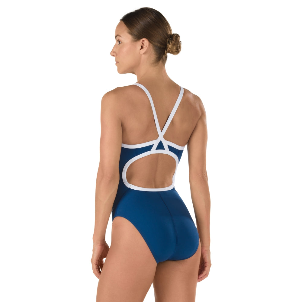 Speedo Solid FlyBack Women's Endurance+ Training swimwear - Blue