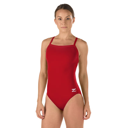 Speedo Solid FlyBack Women's Endurance+ Training swimwear - Red